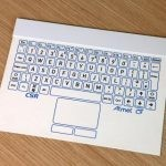 csr thin bluetooth keyboard