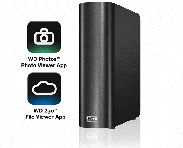 WD My Book Live Personal Cloud Storage NAS