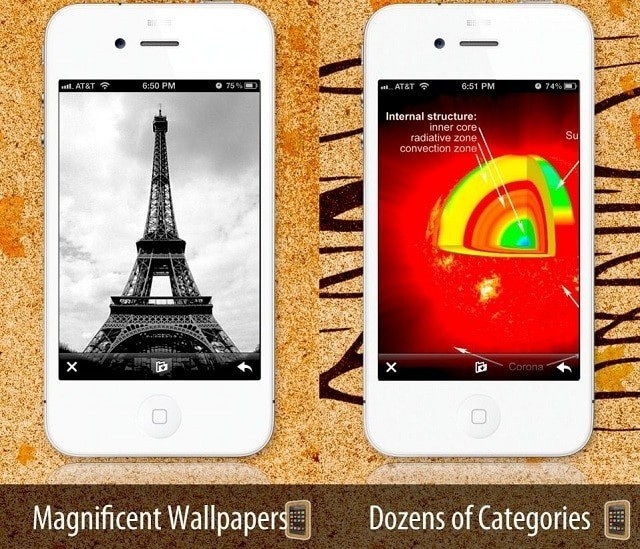 Wallpapers iOS 7 edition