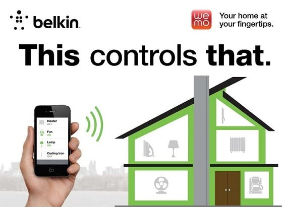 belkin we mo internet of things