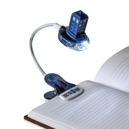 doctor who book light
