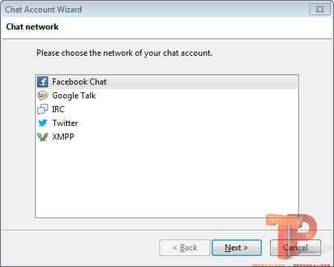 Chat account