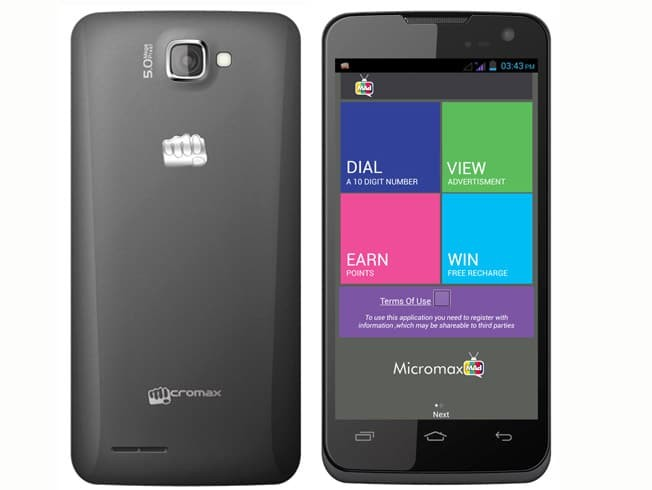 micromax canvas make money seeing ads
