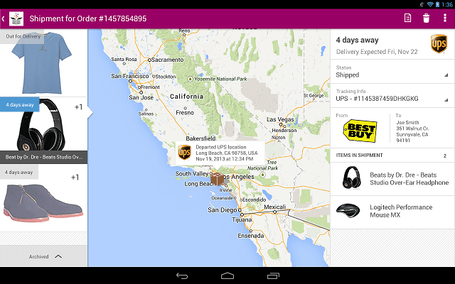 slice android package tracking