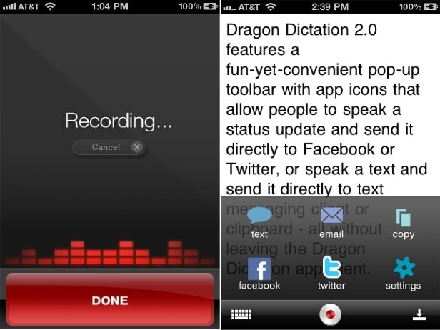 dragondictation