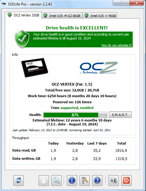 SSD-Life-best-SSD-management-software