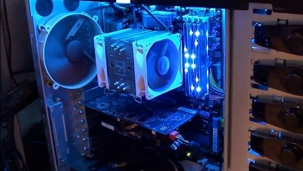 An Efficiently Air Cooled PC