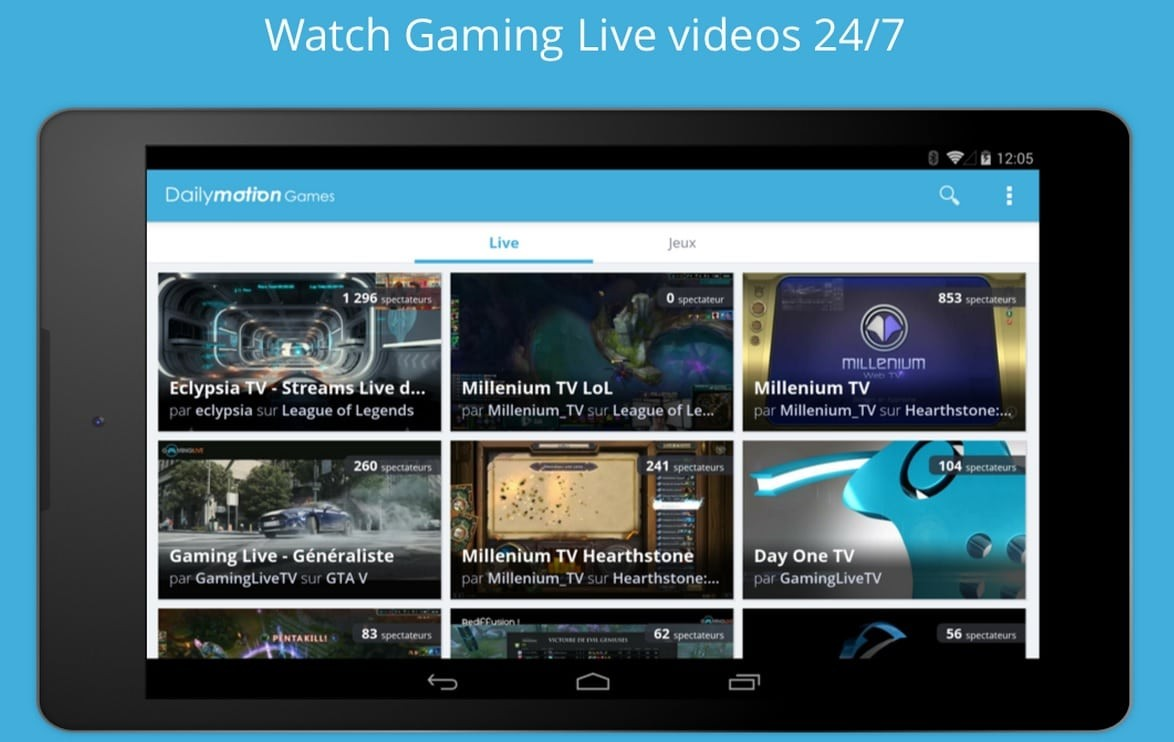 dailymotion games android