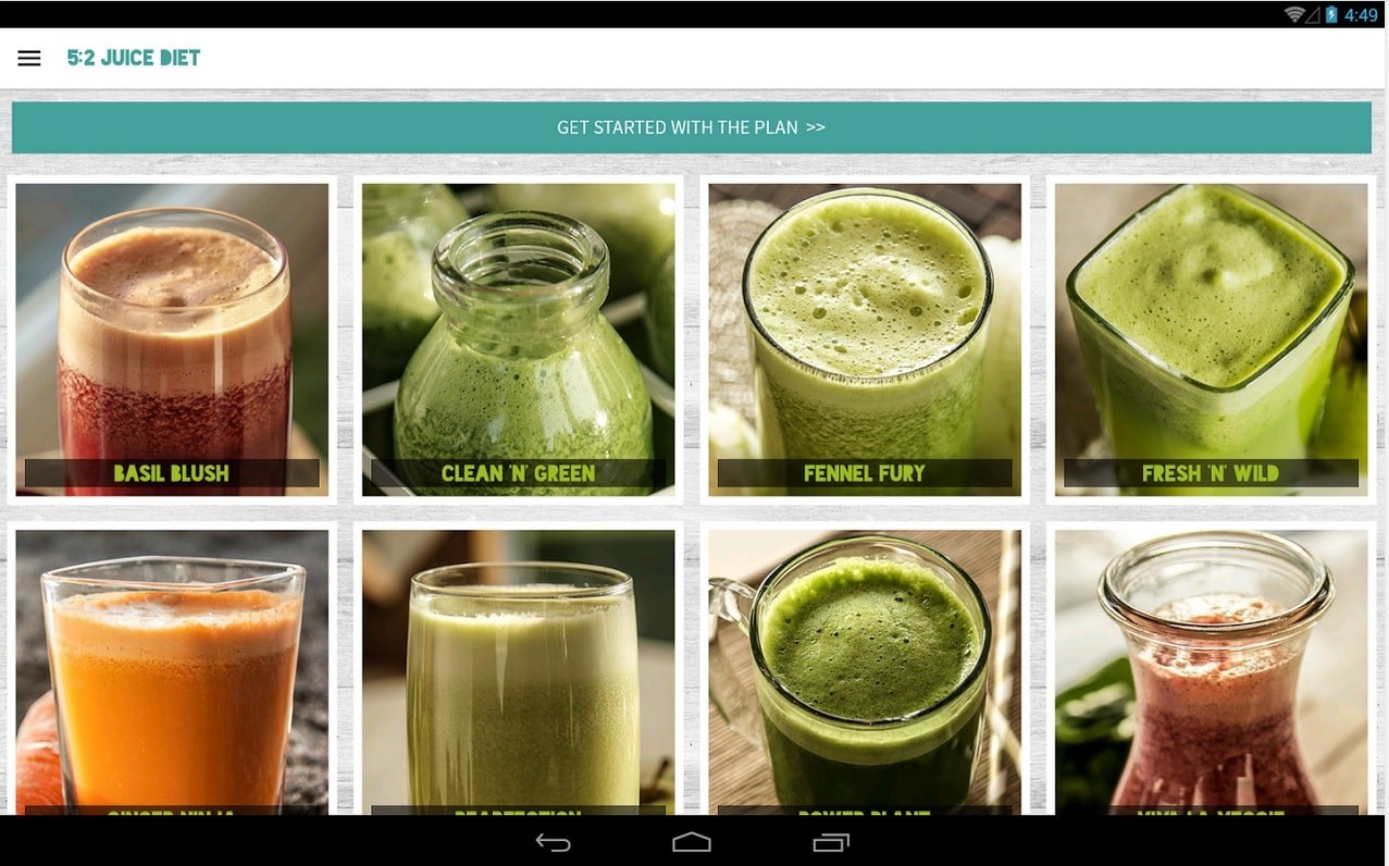juice diet android