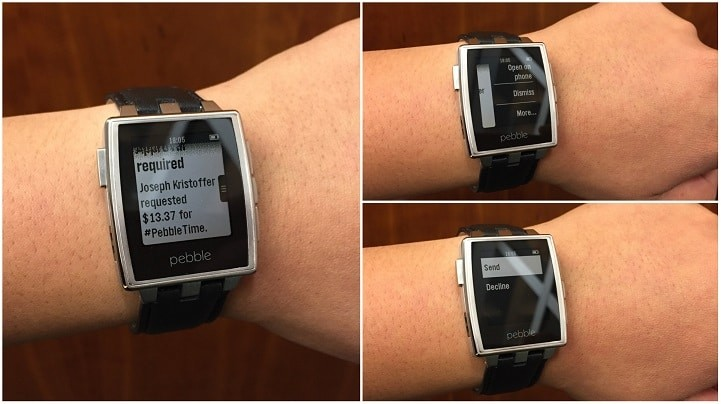 pebble android wear apps