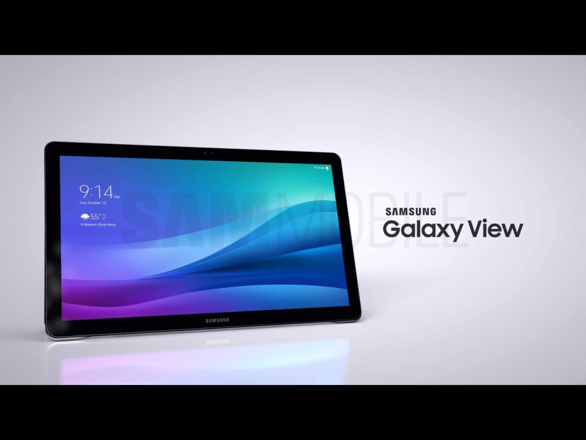 galaxy view tablet 4