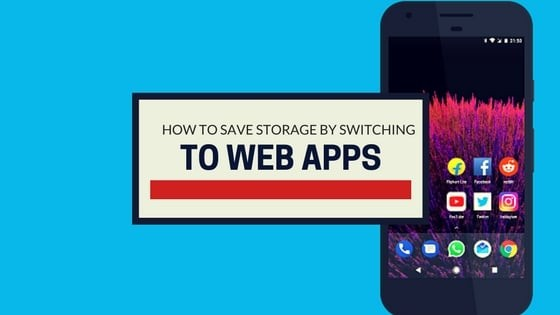how to save storage