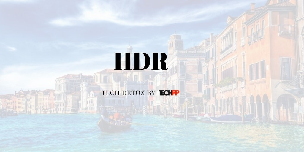 what is HDR