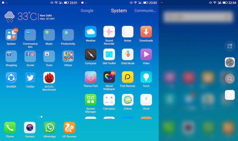 gionee a1 software