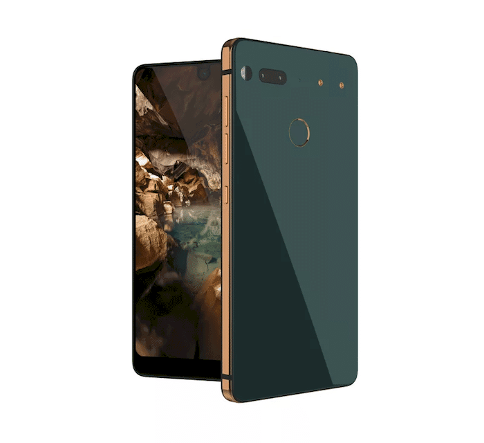 the essential phone green