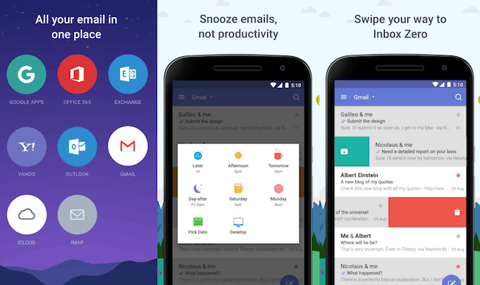 newton mail android
