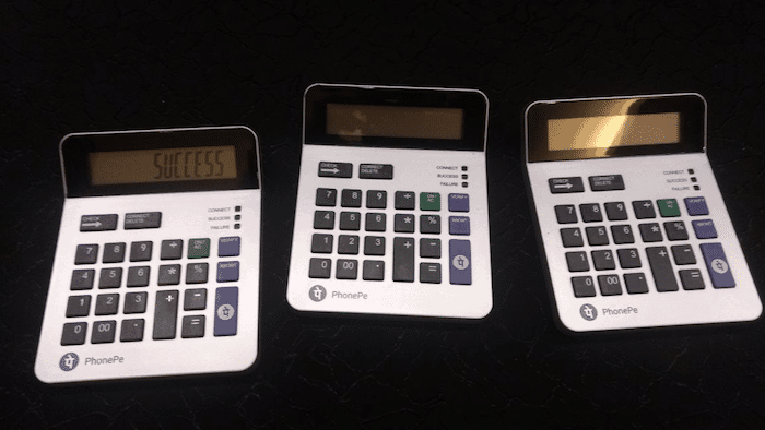 PhonePe's new POS Device Looks Like an Old-School Calculator and Works Without Internet