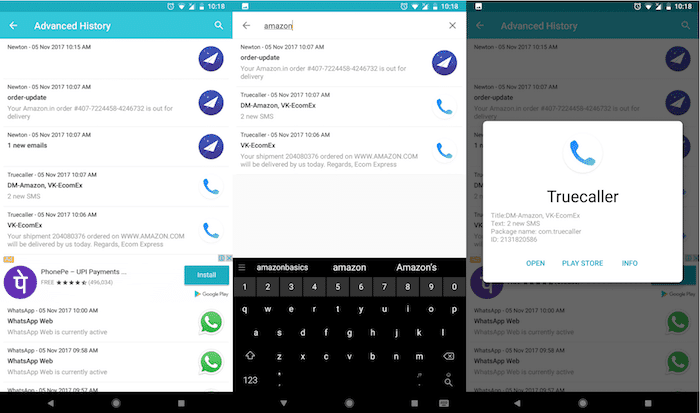 How to Search and Manage your Notification History on Android