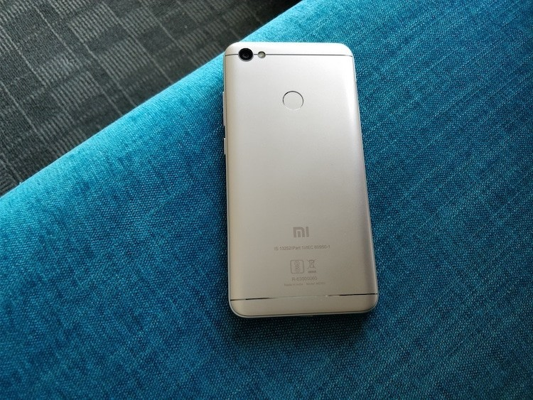 redmi y1 rear