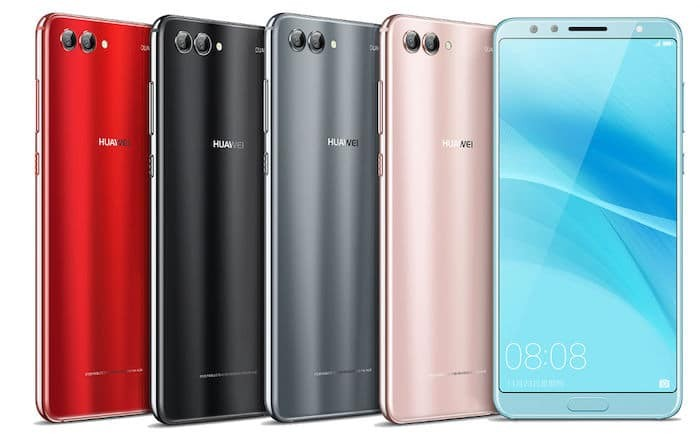 Huawei Nova 2s Goes Official with a 6-inch Near Bezel-Less Display and Four Cameras