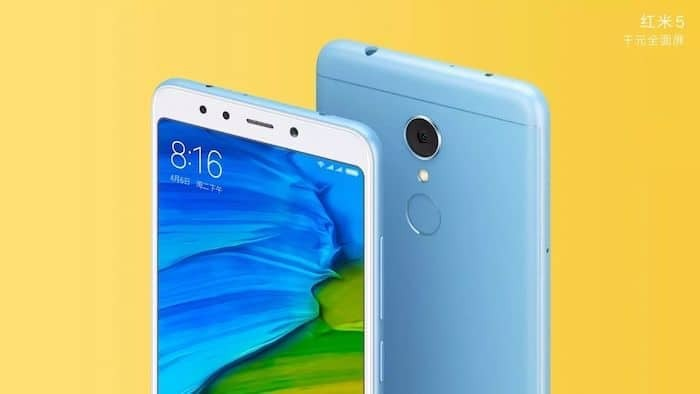 Xiaomi Redmi 5 Launched in India, Prices Start at Rs 7,999