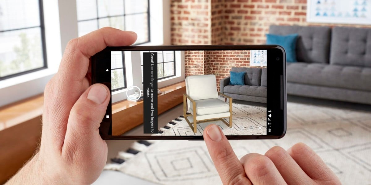 Amazon App on Android Gets Augmented Reality Feature