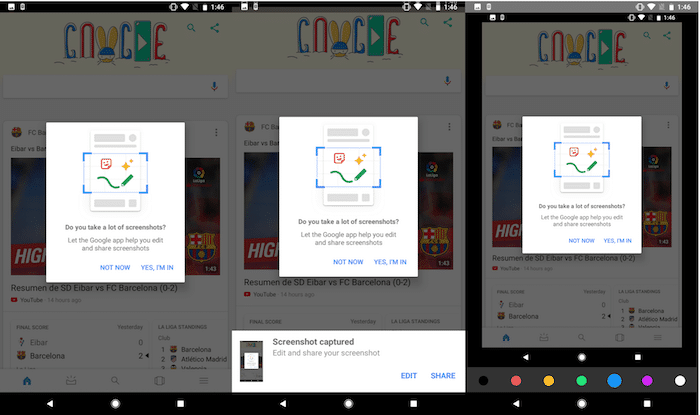 Google is Making it Easier to Edit Screenshots of its own App on Android