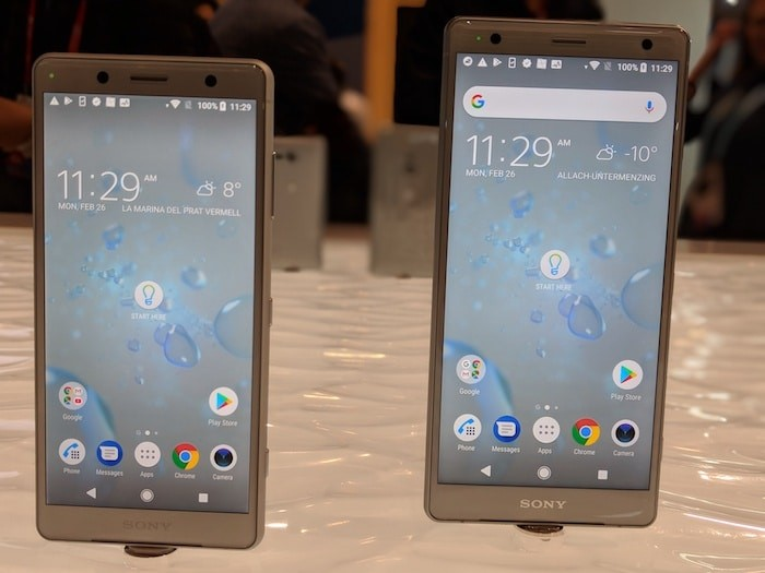 [First Cut] Sony Xperia XZ2 and XZ2 Compact: Trying to Break the Sony Design Mould