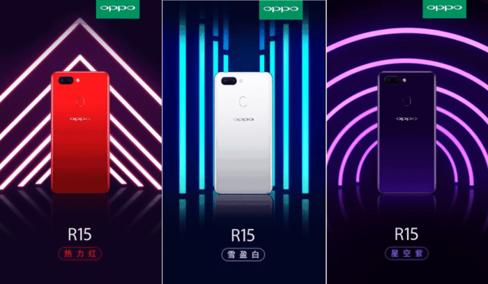 Oppo R15 Rumored Specifications