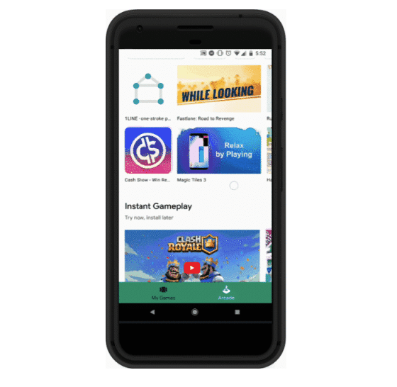 Google Play Instant Lets You Sample Games without Installing Them