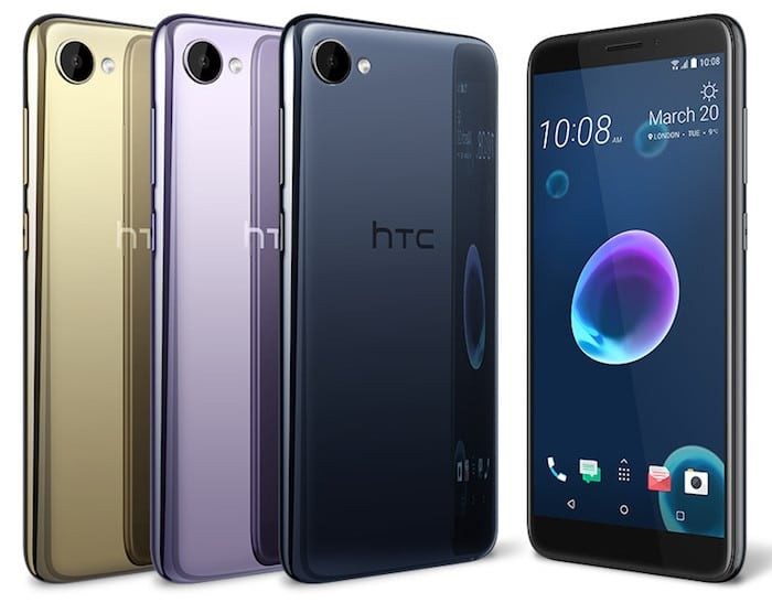 HTC's new Mid-Range Desire 12 Smartphone Lacks a Fingerprint Sensor in 2018