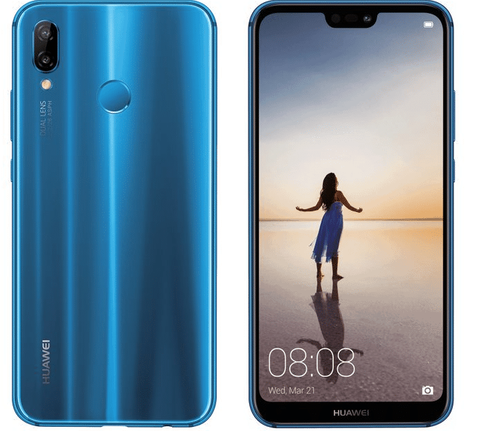 Huawei's new Notch-Equipped P20 Smartphone Oddly Retains the Home Button