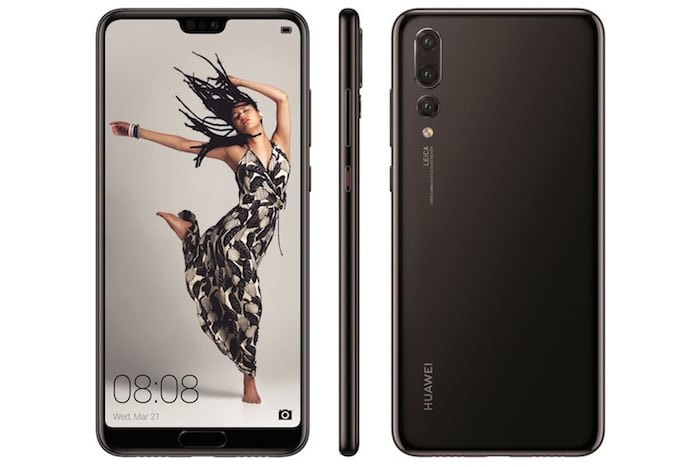 Huawei's new P20 Pro has 3 Rear Cameras, 1 Notch, and 0 Headphone Jack