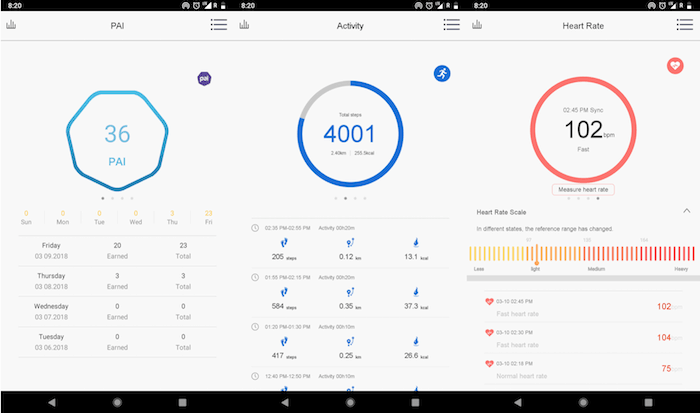 lenovo healthy app screenshots