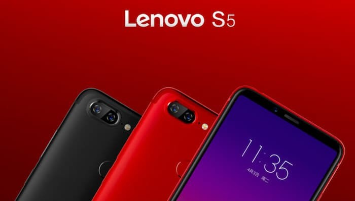 Lenovo S5 with 5.7-inch 18:9 Display and Face Unlock Goes Official in China