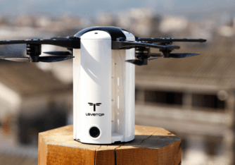 LeveTop is an Autonomous Folding Drone with Stabilized FHD Camera and 20Min Flight Time