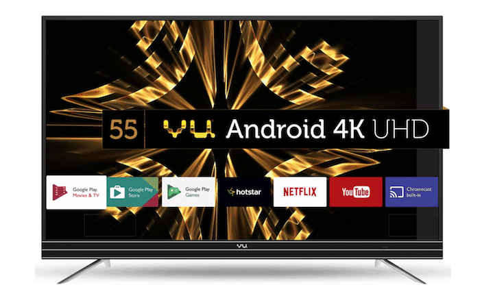 Vu's new ActiVoice Line of Smart Televisions run Android Nougat and Start at Rs 36,999
