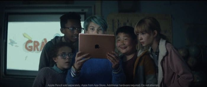 apple ipad homeword ad 1