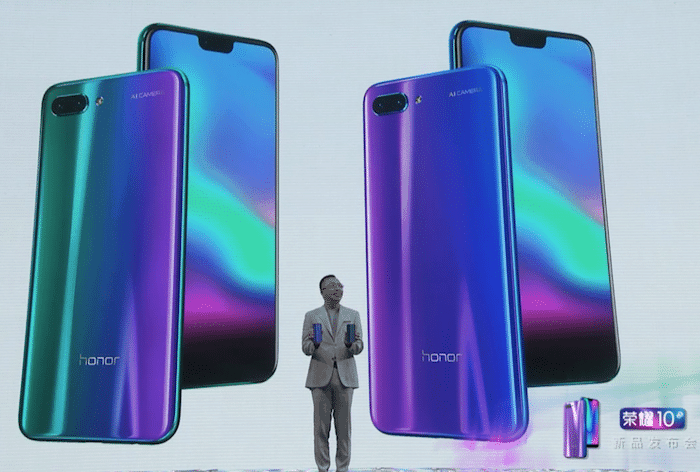 The new Honor 10 Keeps the Headphone Jack and Embraces the Notch