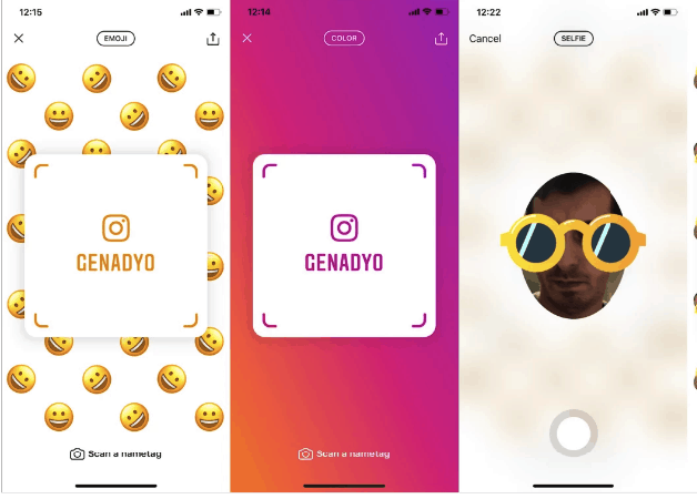 Nametags is Instagram's Version of Snapchat QR Codes