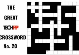 The Great TechPP Crossword: Episode 20