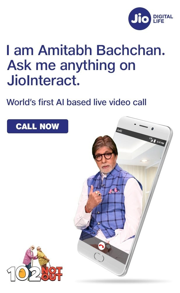 Jio Interact is an AI-Based Brand Engagement Platform that Lets You Video Call Celebrities