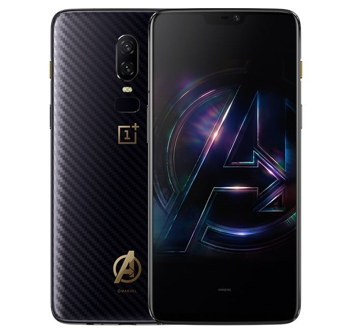OnePlus Officially Introduces the OnePlus 6 Marvel Avengers Limited Edition