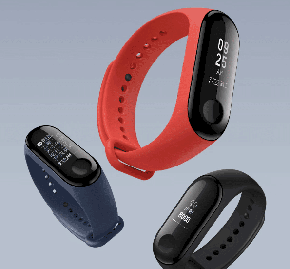 Xiaomi Mi Band 3 with Curved OLED Display and 20-days Battery Life Launched at $26