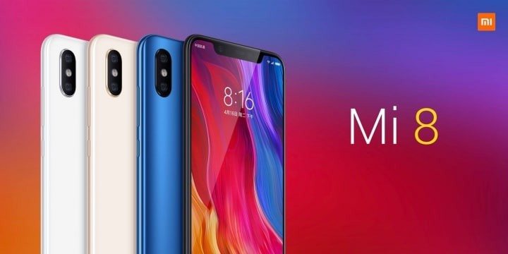 Xiaomi Mi 8 Launched with 6.21-inch FHD+ AMOLED Display and Snapdragon 845