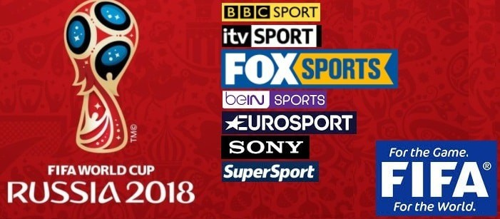 2018 FIFA World cup Tv schedule
