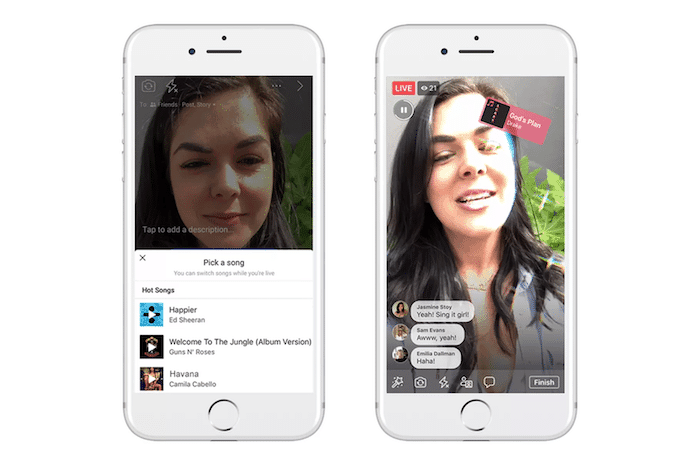 Facebook's new Lip Syncing Feature Could Mean the end of Apps Like Musical.ly