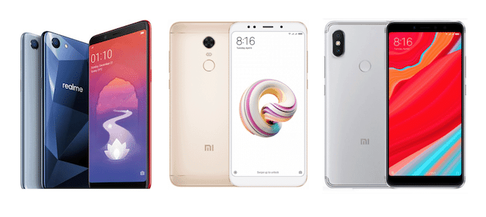 Xiaomi Redmi Y2 vs RealMe 1 vs Redmi Note 5: How do They Compare?