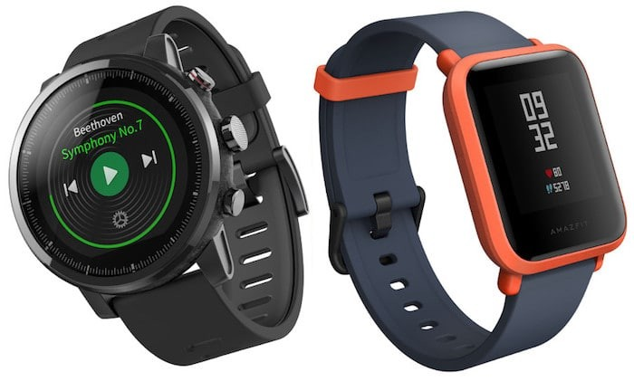 Amazfit BIP and Stratos Smartwatches Launched in India for Rs 5,499 and Rs. 15,999