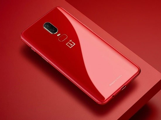 oneplus 6 red